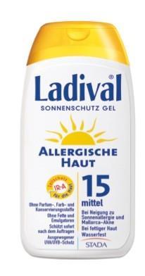 LADIVAL® allergische Haut Sonnenschutz Gel LSF 15