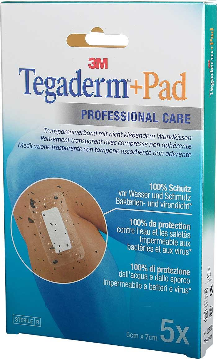 3M Tegaderm + Pad 5 x 7 cm