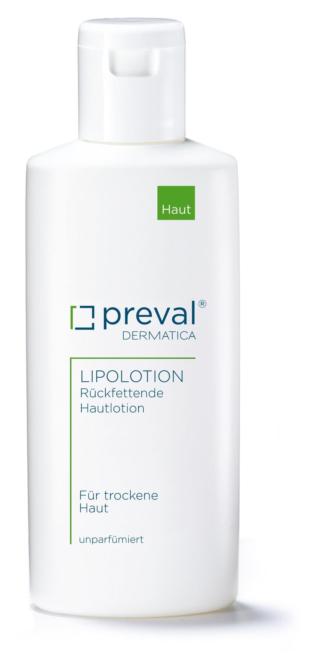 preval Lipolotion Hautpflegeemulsion