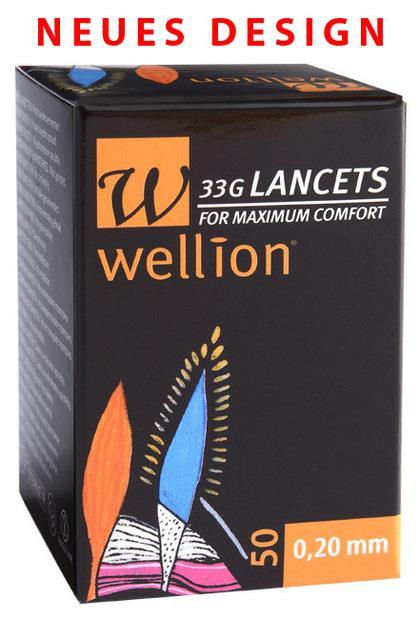 Wellion 33G Lanzetten