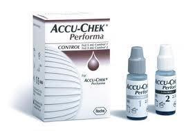 Accu-Chek Peforma Kontrolllösung