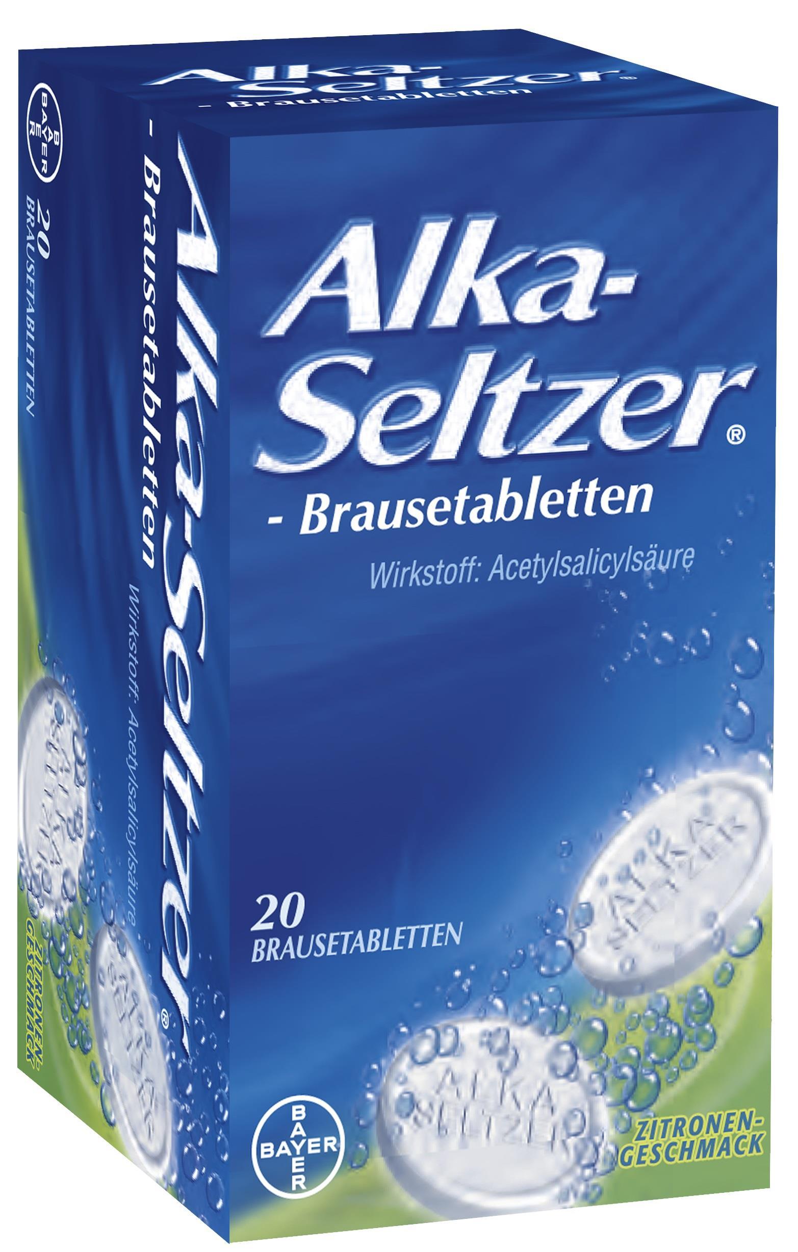 Alka-Seltzer - Brausetabletten
