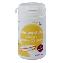 Magnesium 60 mg + Vitamin C Kapseln