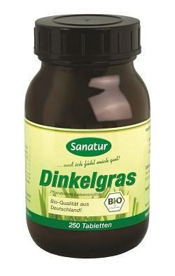 Dinkel-Gras Tabletten, BIO Sanatur