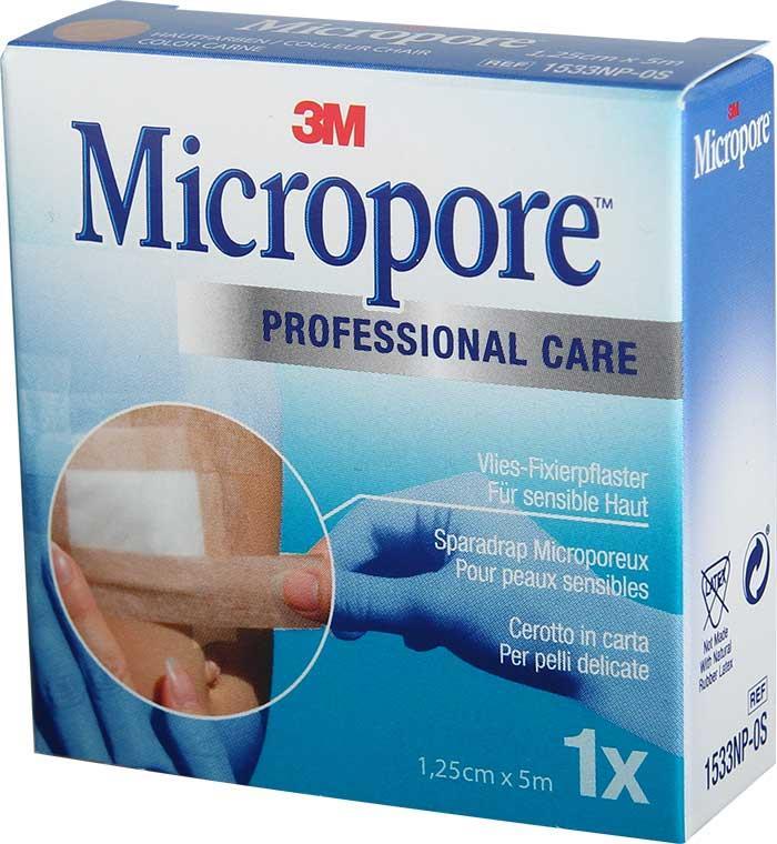 3M Micropore Refill 12,5 mm x 5 m