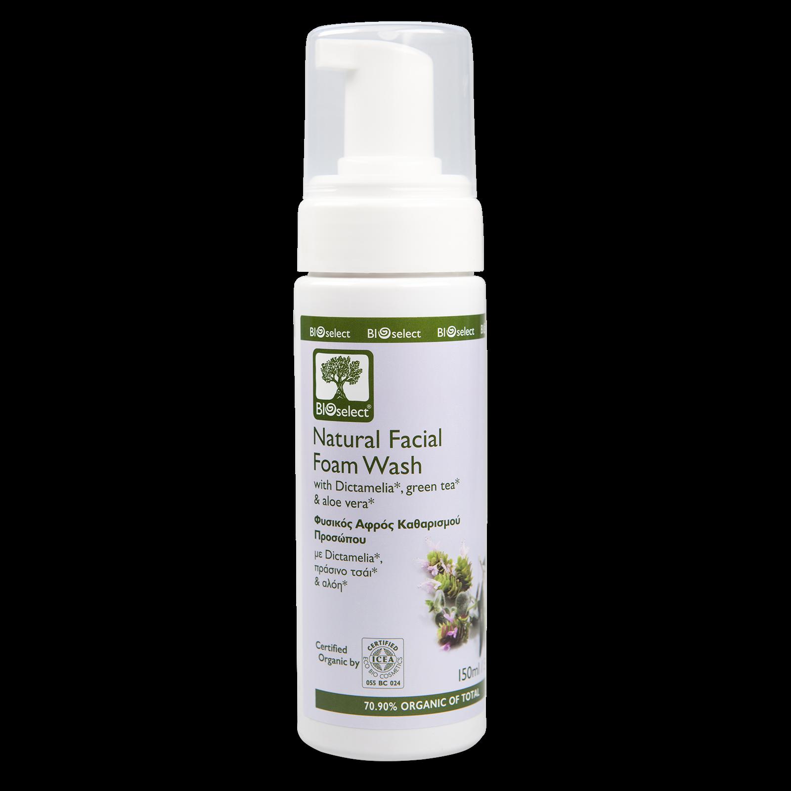 Bioselect Natural Facial Foam Wash