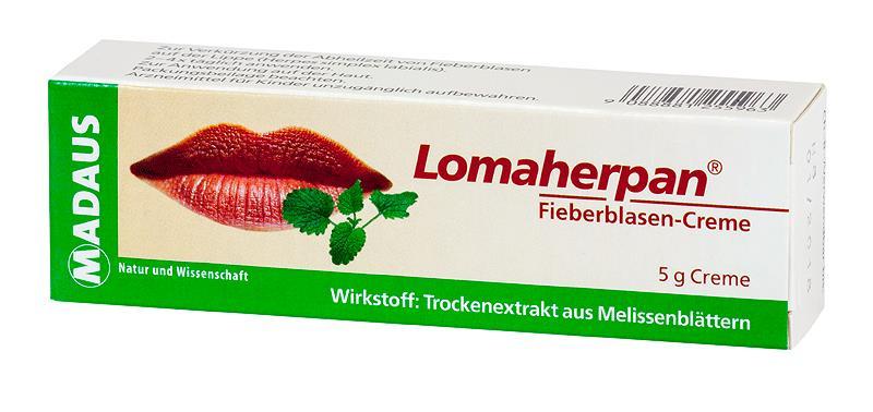 Lomaherpan - Fieberblasen-Creme