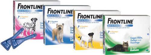 Frontline Spot-on für kleine Hunde