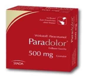 Paradolor Erdbeer-Vanille 500 mg Granulat