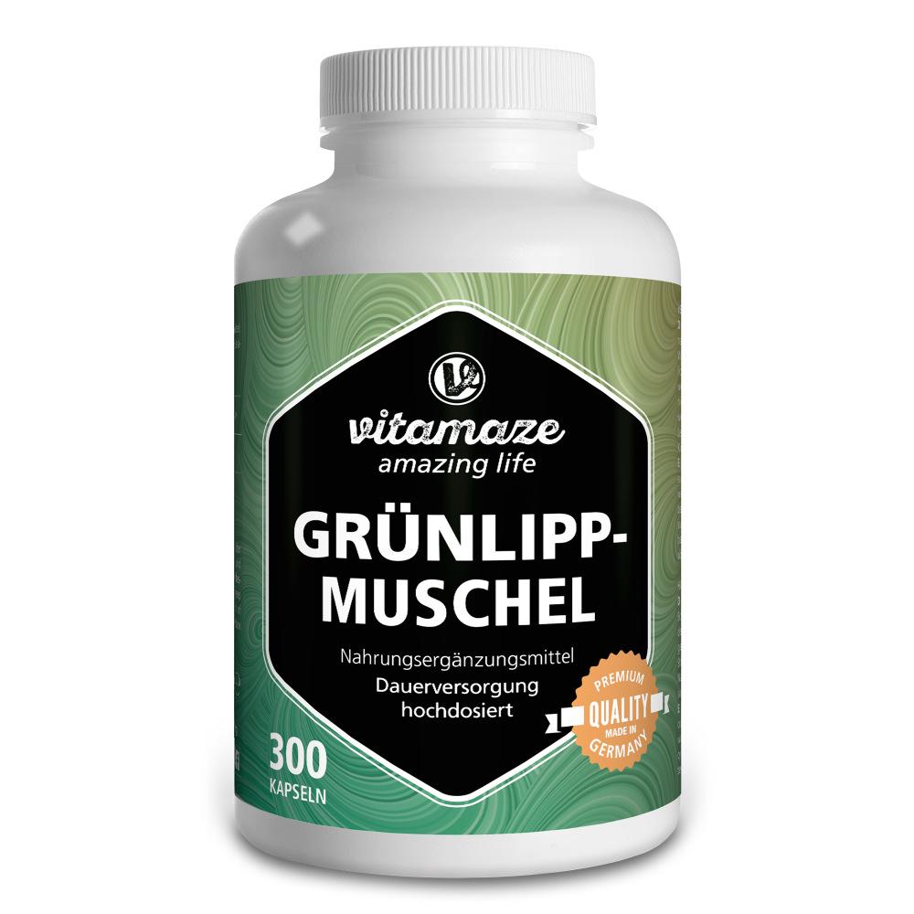 Vitamaze Grünlippmuschel 500mg hochdosiert