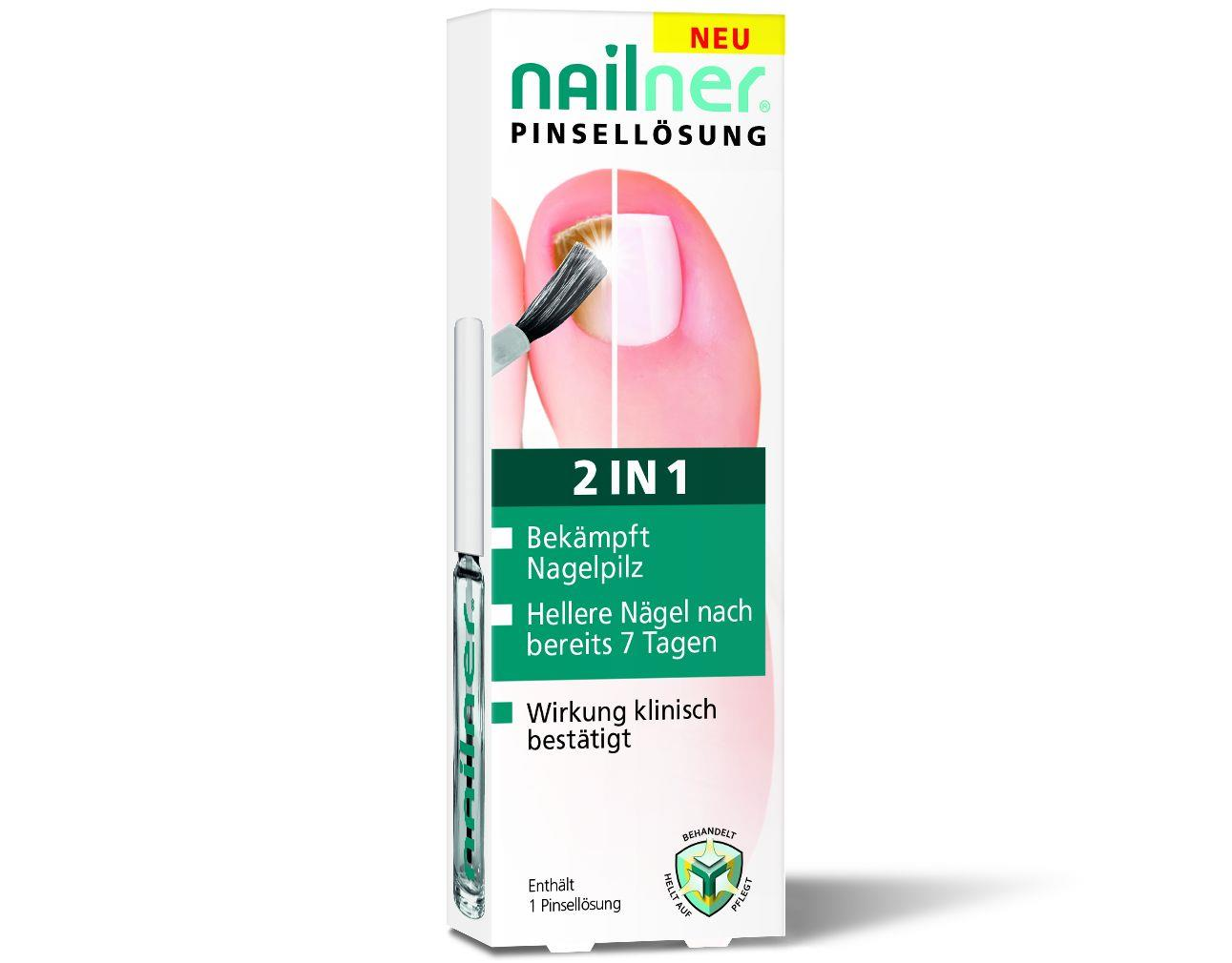 Nailner Nagelpilz 2in1 Pinsellösung
