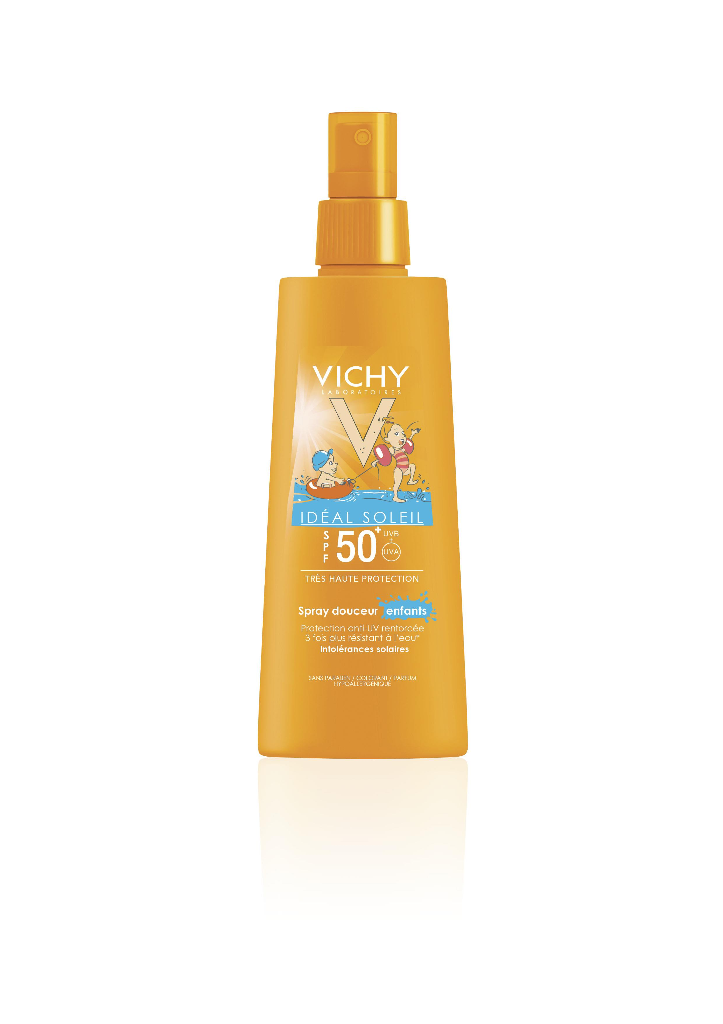 VICHY Ideal Soleil Kinderspray Sensitive LSF 50+