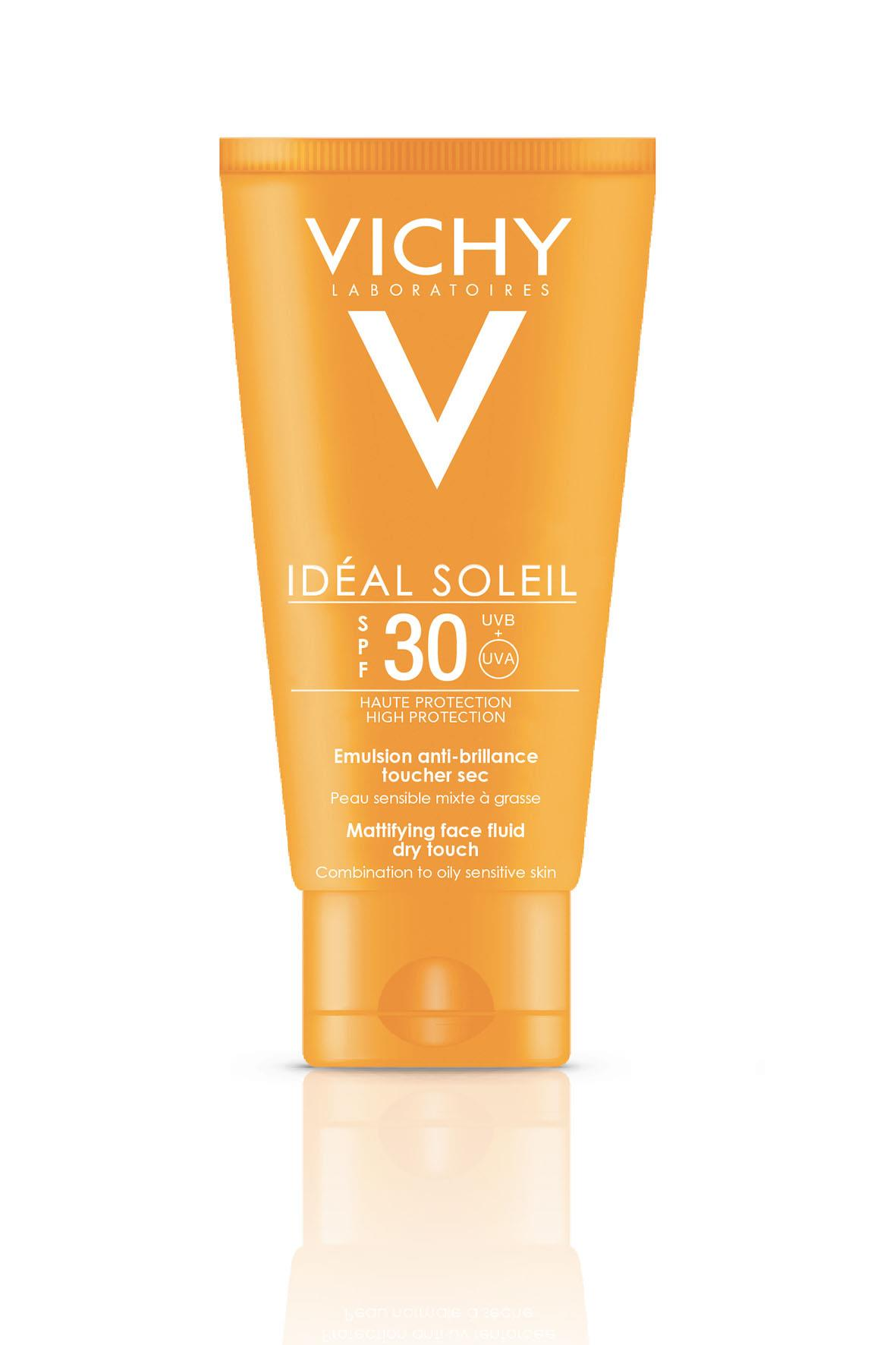 VICHY Ideal Soleil Sonnen Fluid Dry Touch LSF 30