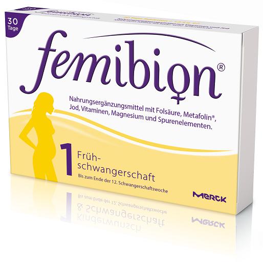 Femibion Schwangerschaft 1