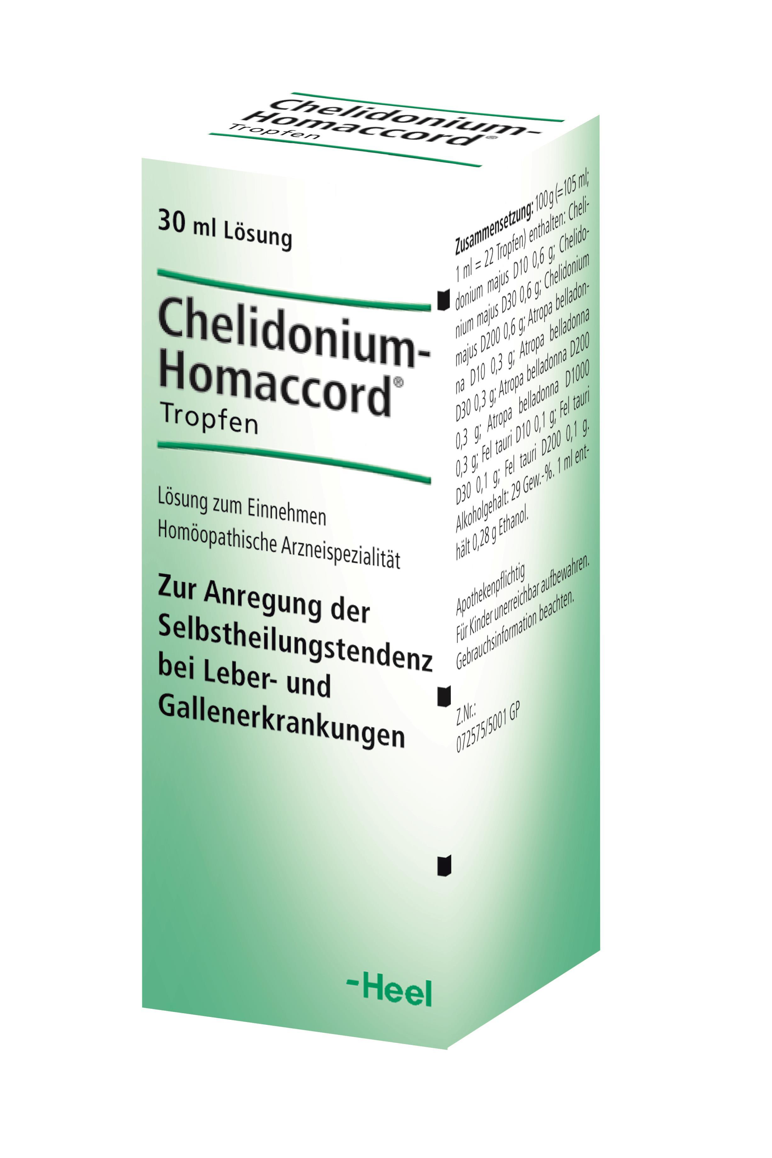 Cheledonium Homaccord®