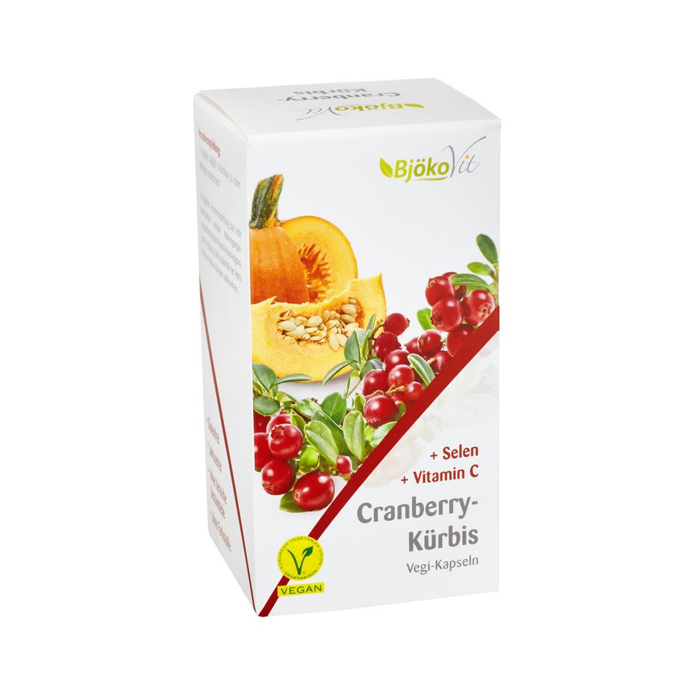 BjökoVit Cranberry-Kürbis Kapseln vegan