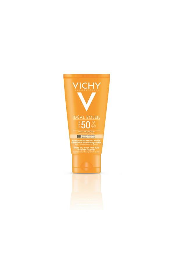 VICHY Ideal Soleil BB Fluid Dry Touch LSF 50