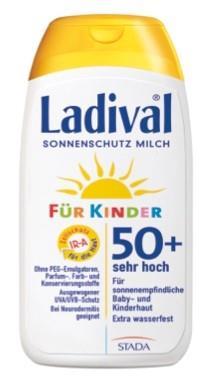 LADIVAL® Kinder Sonnenschutz Milch LSF 50+