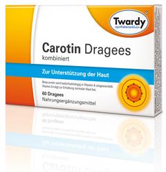 Twardy Carotin Dragees kombiniert