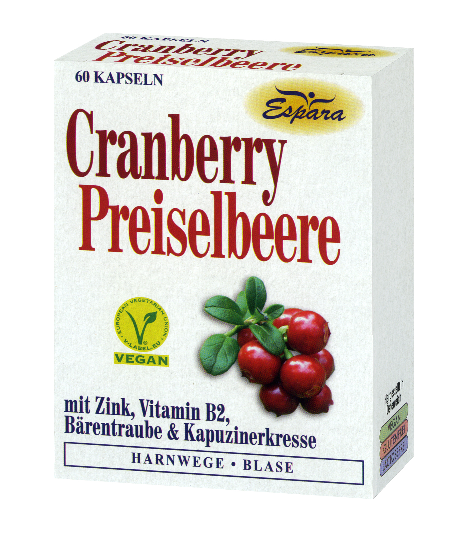 Espara Cranberry-Preiselbeere Kapseln