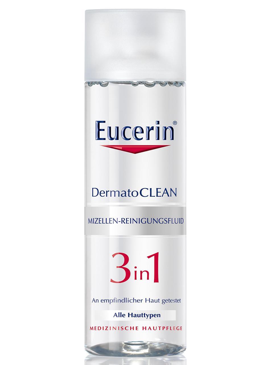 Eucerin DermatoClean 3in1 Mizellen Reinigungsfluid