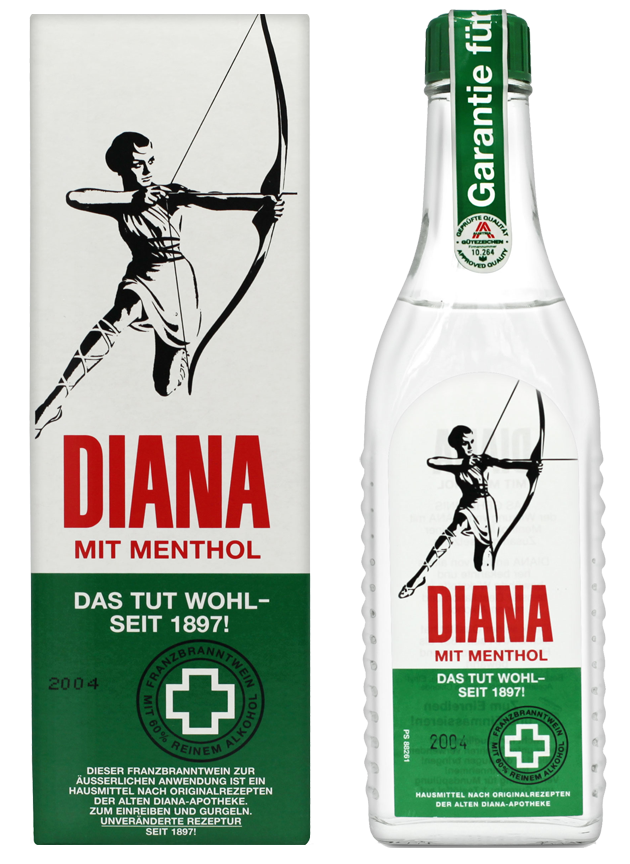 DIANA Franzbranntwein mit Menthol