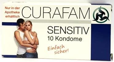Curafam sensitiv Kondome