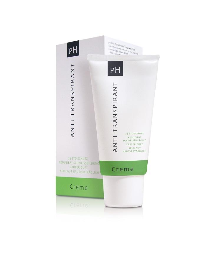 pH Anti Transpirant Creme NEU