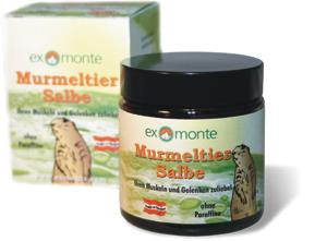 Exmonte Murmeltiersalbe 100ml