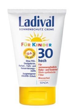 LADIVAL® Kinder Sonnenschutz Creme Reine Mikropigmente LSF 30