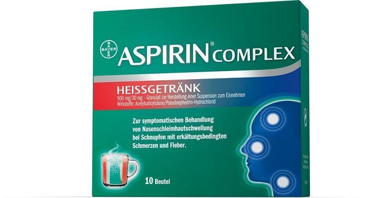 Aspirin Complex - Heißgetränk 500 mg/30 mg Granulat zur Herstellung einer Suspension zum Einnehmen