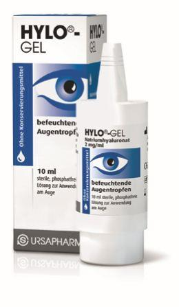 Hylo-Gel Augentropfen 10ml