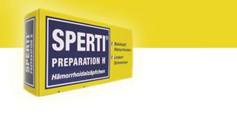 Sperti Preparation H - Hämorrhoidalzäpfchen