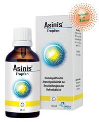 Aflubin - Tropfen bei Entzündungen der Nebenhöhlen und Schnupfen