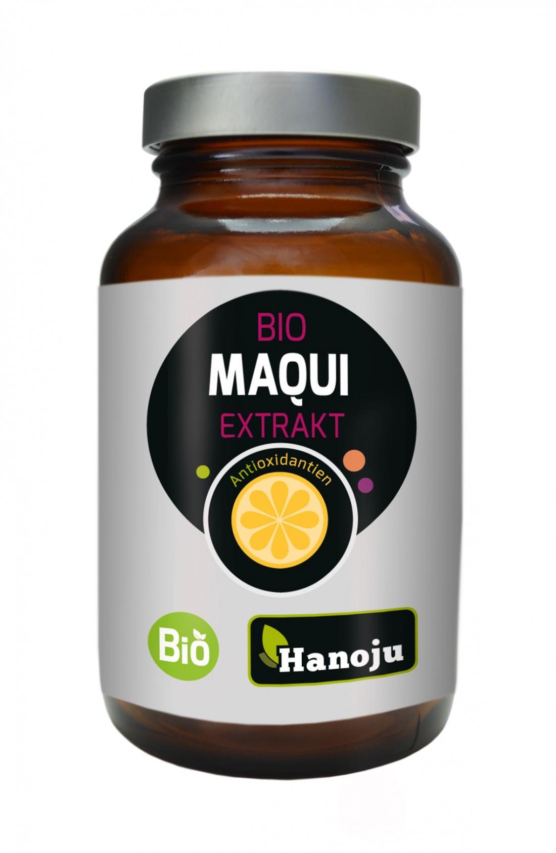 Bio Maqui Extrakt Kapseln Hanoju