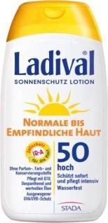 LADIVAL® normale bis empfindliche HautSonnenschutz Lotion LSF 50