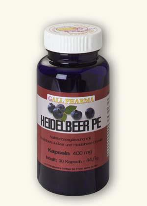 GPH Heidelbeer Extrakt + Pulver Kapseln