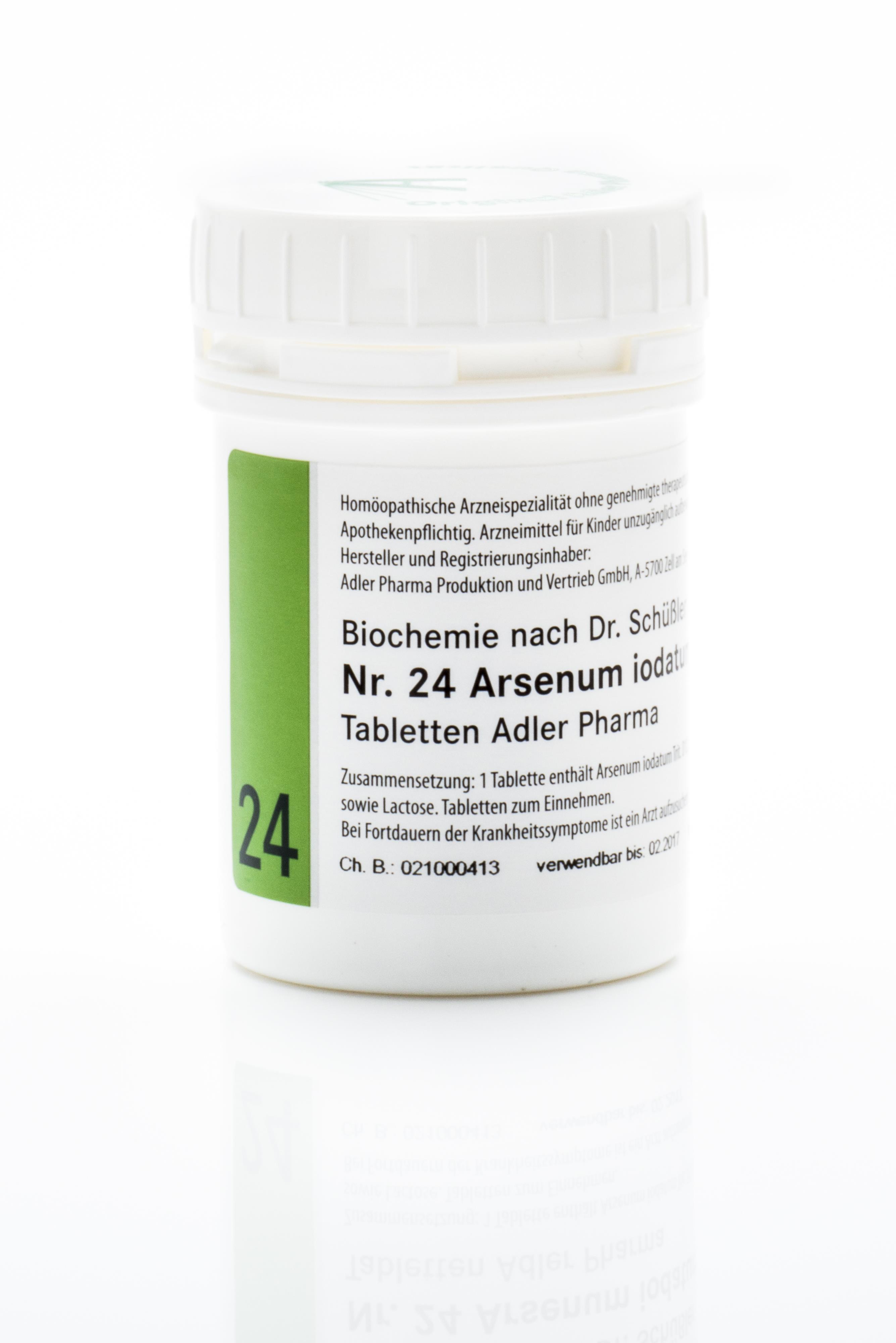 Schüßler Salz Adler Nr. 24 D12 Tabletten