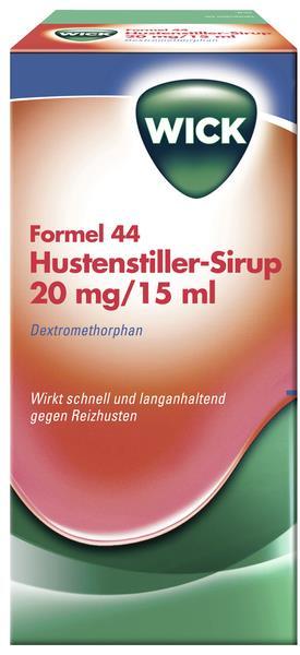 WICK Formel 44 Hustenstiller Sirup