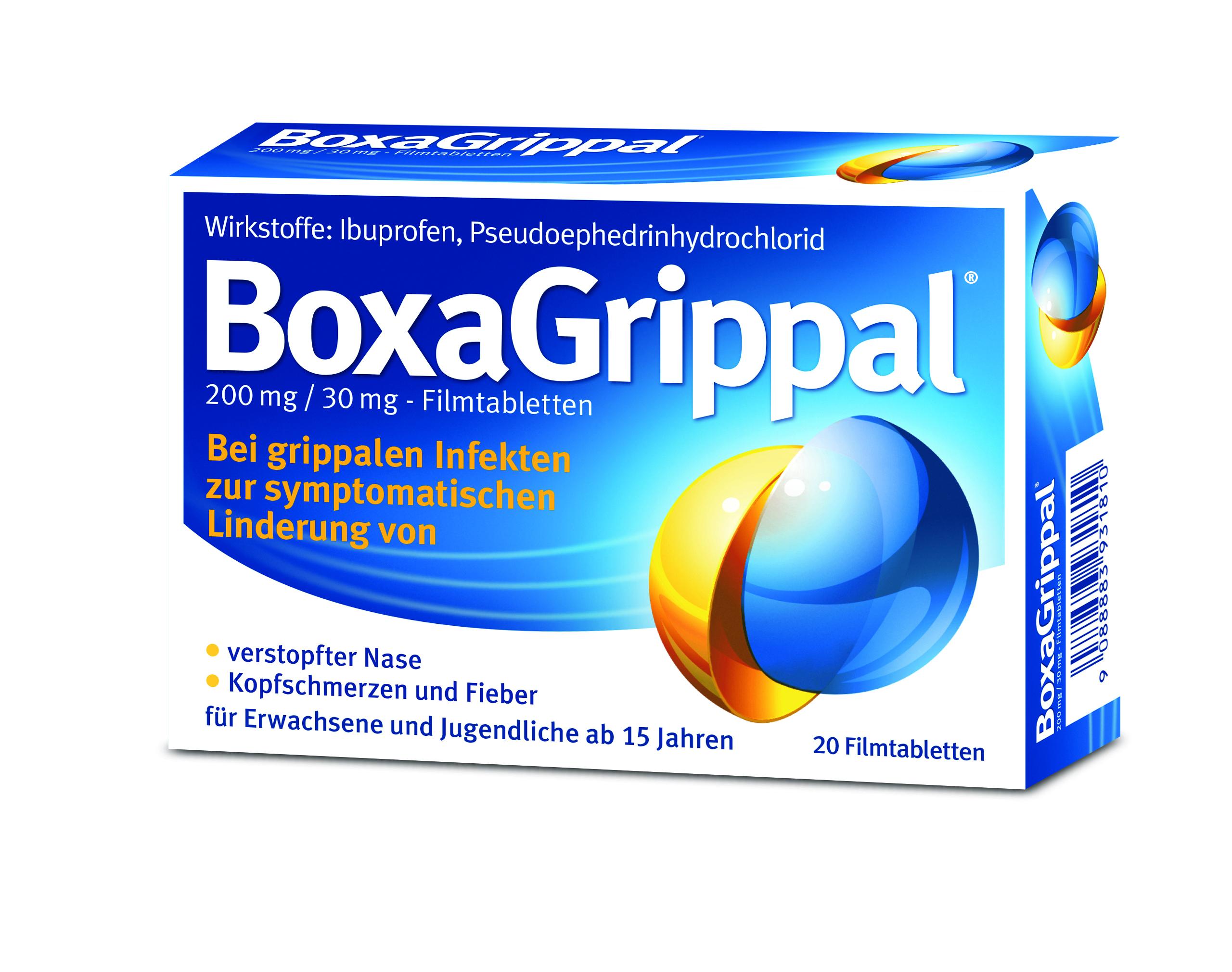 BoxaGrippal 200 mg/30 mg - Filmtabletten