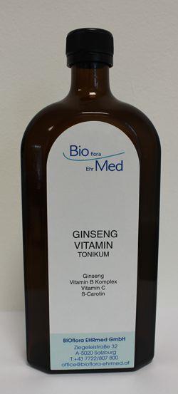 Ginseng Vitamin Tonikum Bioflora Ehrmed