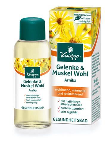 Kneipp Gesundheitsbad Gelenke & Muskel Wohl Arnika 100ml