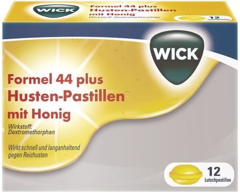 Wick Formel 44 Husten-Pastillen mit Honig 7,33 mg
