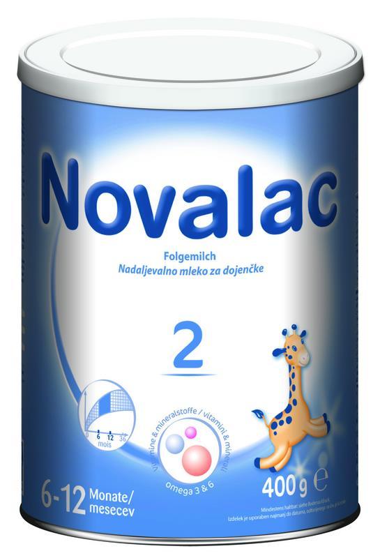 Novalac 2 400 g Universelle Milchnahrung