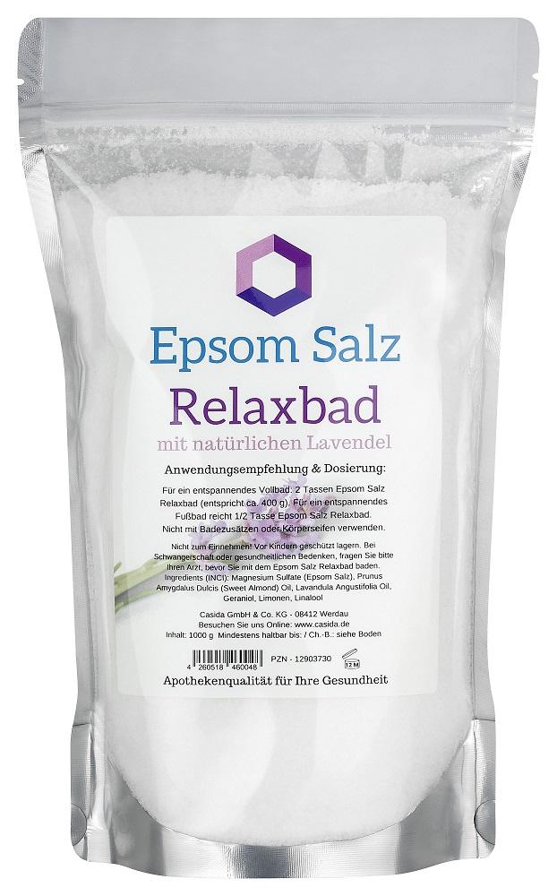 Epsom Salz Relaxbad