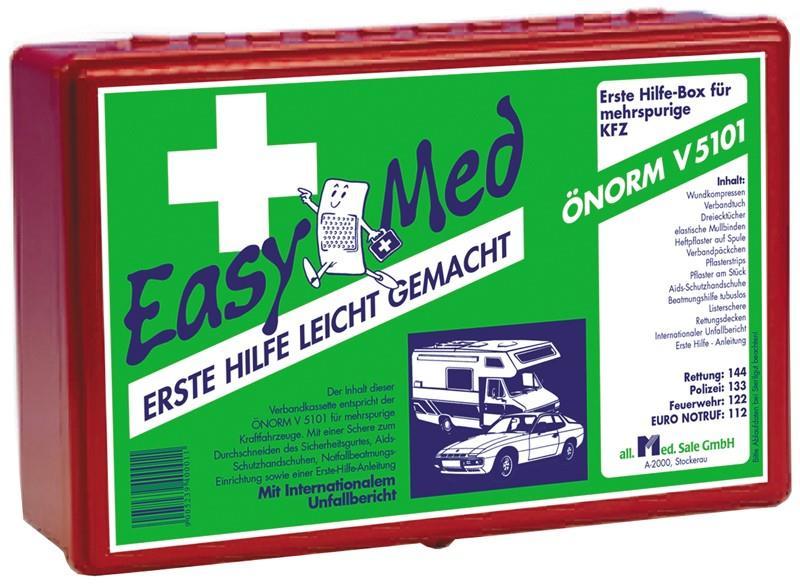 EasyMedNachfüllung für Autoapotheke Önorm V5101