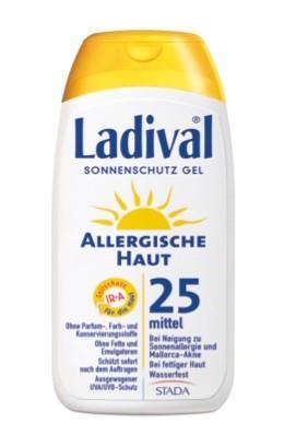 LADIVAL® allergische Haut Sonnenschutz Gel LSF 25
