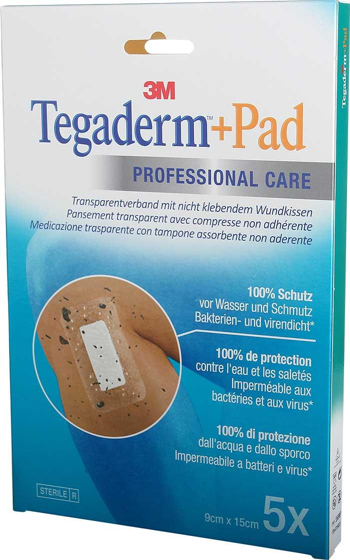 3M Tegaderm + Pad 9 x 15 cm