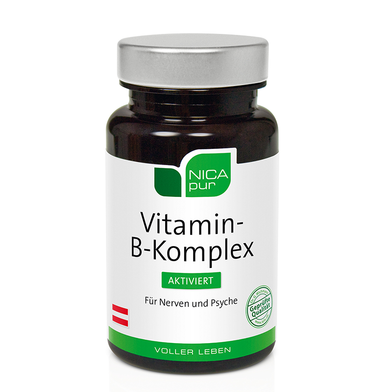 NICApur Vitamin-B-Komplex aktiviert