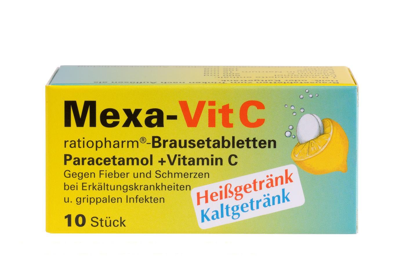 Mexa-Vit. C ratiopharm - Brausetabletten